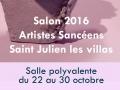 Exposition Saint-Julien-les-Villas 2016, Aube 2016