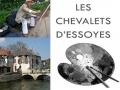 "Exposition ""Les Chevalets d'Essoyes"", Aube 2015"