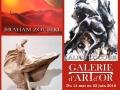 Exposition Galerie d'Art et D'Or Châtillon-sur-Seine, Aube 2016