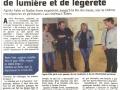 Exposition Galerie Jean-Paul Belmondo, Romilly-sur-Seine, Aube 2016, revue de presse 2016